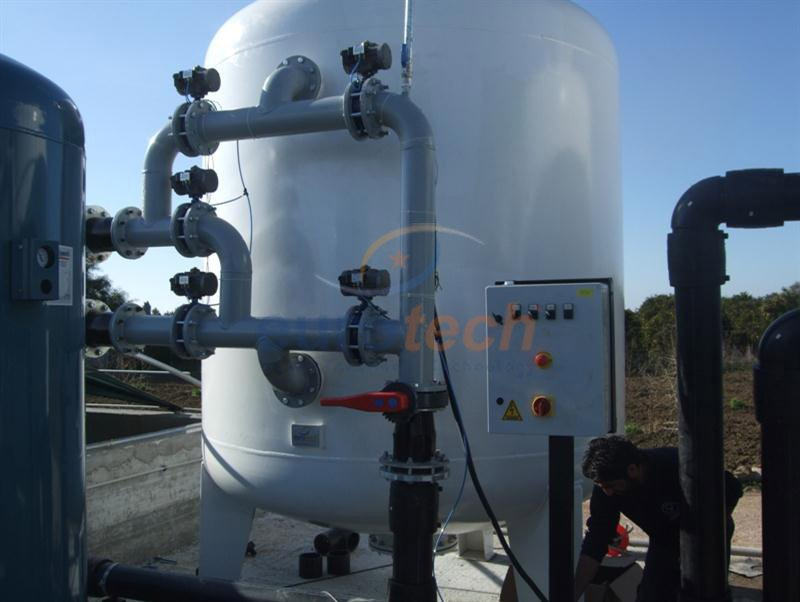 EC Serisi Otomatik Aktif Karbon Filtreleri